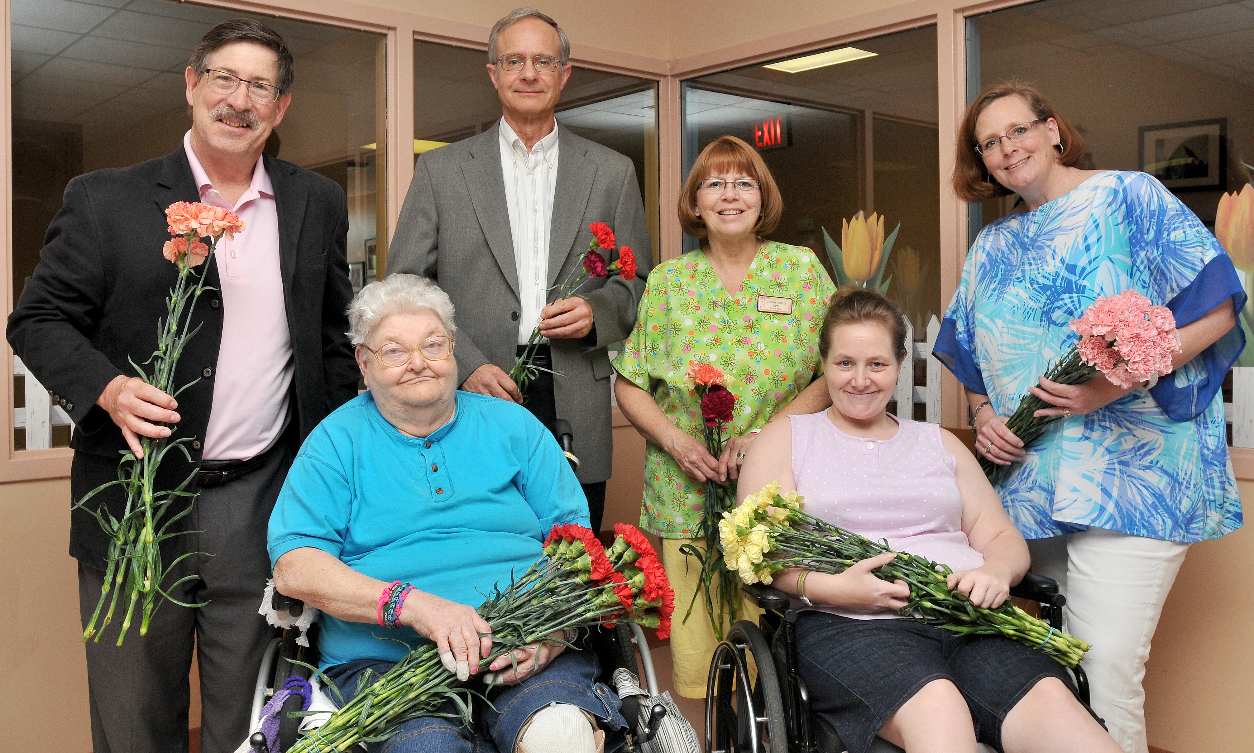 2015 Knights of Columbus Mothers day Carnations